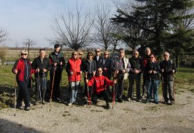 LE VALLI DI OSTELLATO A PASSO DI NORDIC WALKING - dimensione nordic walking asd
