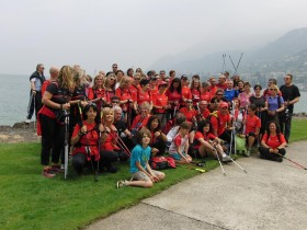 DNW ha partecipato al nordic walking camp - dimensione nordic walking asd